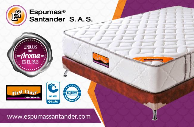 Espumas santander ofrecemos productos c mo cu ndo y d nde nuestros clientes lo necesiten con - Los mejores colchones del mercado ...